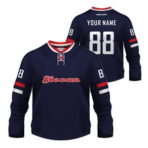 Vianočná dražba hokejového dresu pre deti z Bratislavy