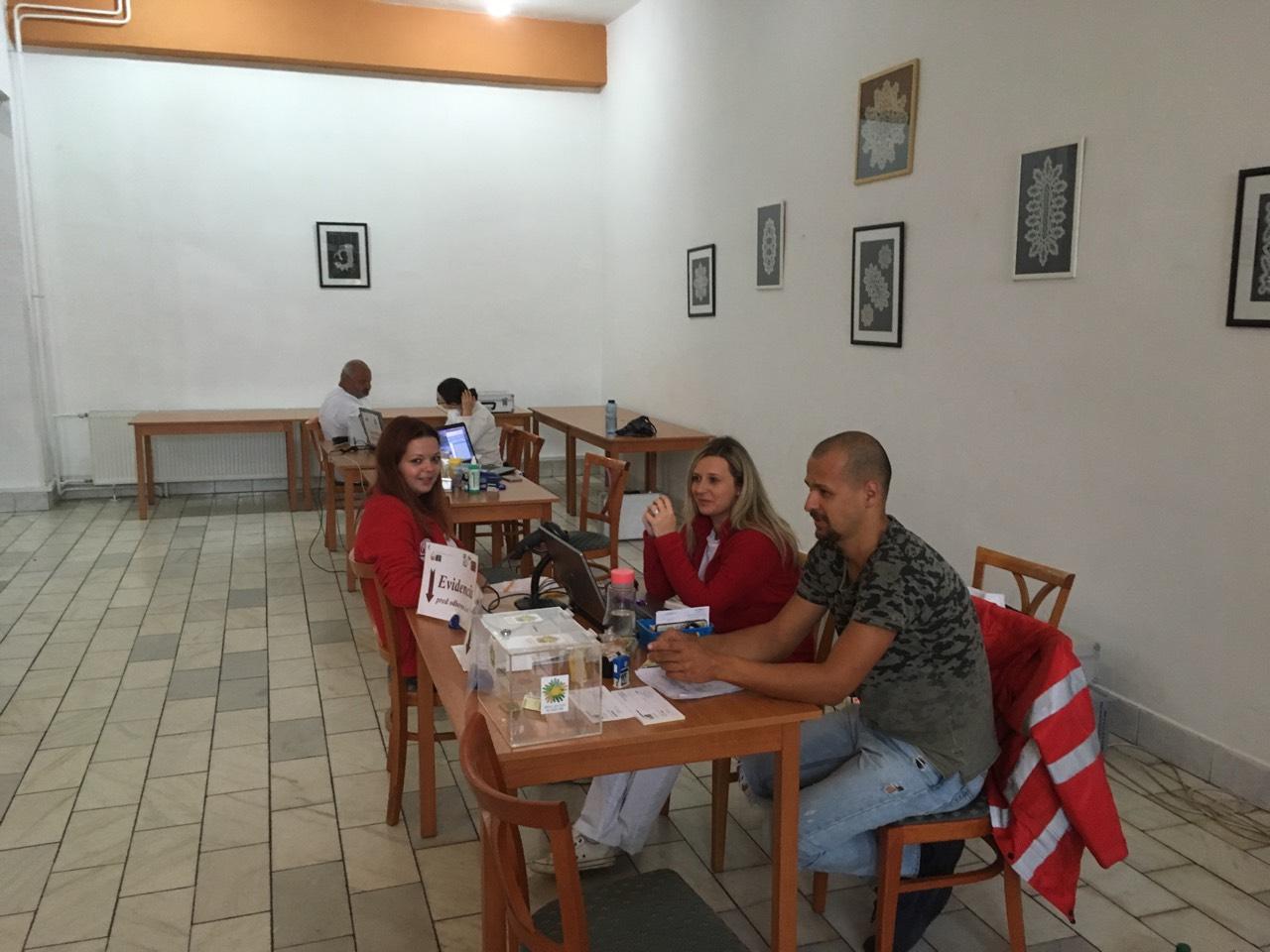 Darovanie krvi 4.9.2017 v Šport Pub Prešov